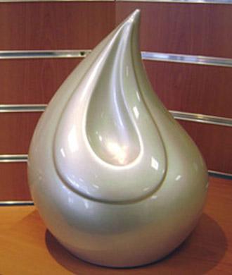 urne pour y déposer les cendres après crématorium