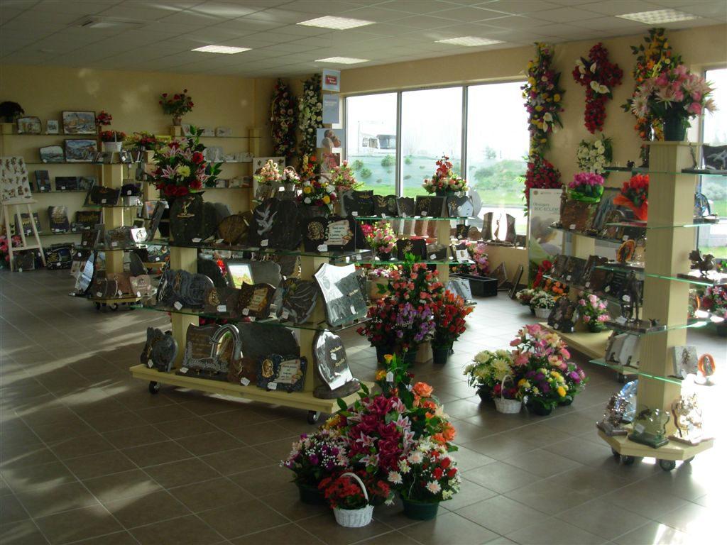 Hall pompes funèbres Saint Vincent sur Jard