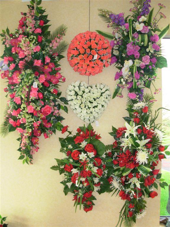 Décoration florales pompes funèbres Les Sables d'Olonne