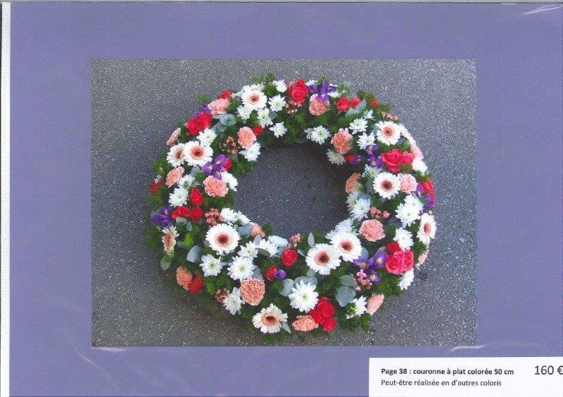 couronne florales Roc Eclerc près de Montréverd