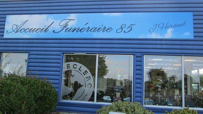 démarche funéraire Vendée Roc-Eclerc