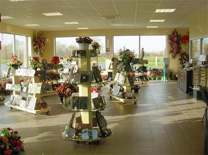 service funéraire Vendée le magasin